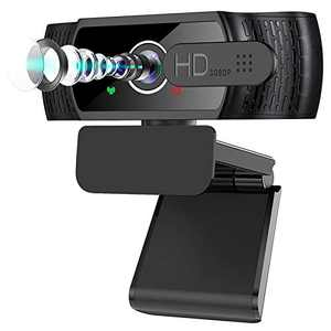 Welcam HD 1080P 30FPS Webcam Microphone,2021 Privacy Cover USB Computer for Zoom Meeting/Skype/FaceTime/Teams/OBS/Xbox/XSplit,Compatible with Mac OS Windows Laptop Desktop PC Monitors