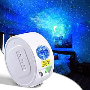 Starlight Projector for Bedroom with Galaxy,Nebula Moon Skylight Night Light for Kids,Ultra Quiet Led Atmosphere Colorful Lamp for Mother's Day Gift