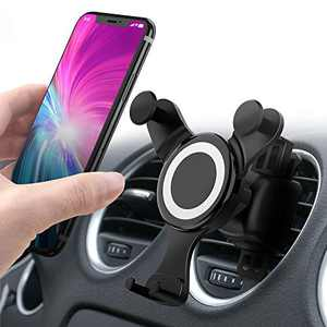 Updated Cell Phone Holder for Car, Universal Smartphone Car Air Vent Mount Holder