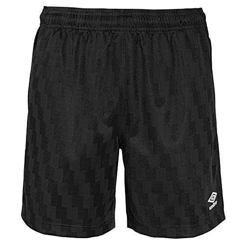 Umbro Stripe Striker Shorts V2, Black Beauty, XS