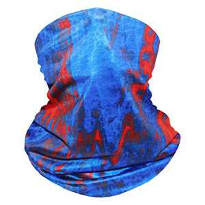 Bestier Neck Gaiter Face Scraf Mask - UV Cooling Fack Mask Breathable Bandana Dust Proof Sun Protection Cover Balaclava Scarf Shield (Ink-blue)