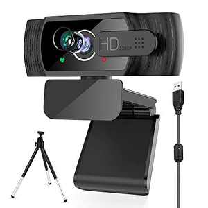 [2020 Upgraded] Electype Webcam with Microphone,1080P HD USB Webcam,Streaming Webcam with Privacy Cover, Laptop PC Computer Web Camera for Video Calling Conferencing Recording Gaming,Zoom.