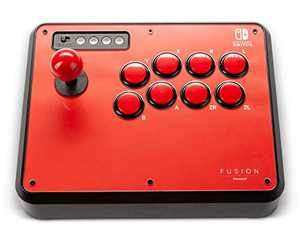 PowerA Fusion Wireless Arcade Stick for Nintendo Switch, Lite, Fight Stick, Gamepad, Game Controller, Bluetooth Controller, AA - Nintendo Switch