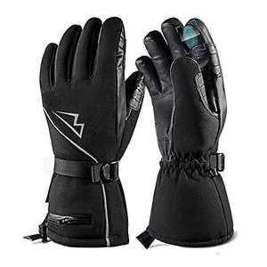 Loowoko Ski Gloves Waterproof Snowboard Gloves Winter Snow Gloves for Men Women