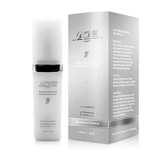 MAIJUEKA Organic Facial Sunscreen Moisturizer SPF 30 PA+++ Sun Lotion Cream 1 fl.oz/30 ml