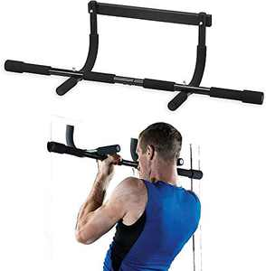 Synteam Doorway Pull Up Bar Home Exercise Equipment Chin-Up Bars for Strength Training