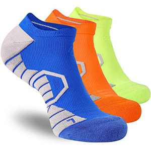 Low Cut Sports Running Socks for Men Women Anti Blister Compression No Show Athletic Socks for Gym Workout Tennis Walking Hiking Golf Tab