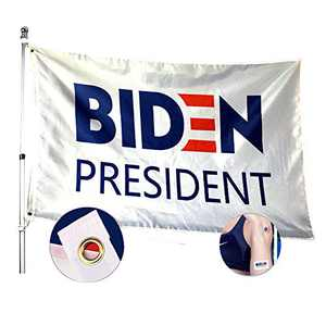 YINBANGKE 2020 Biden flags,3X5 Ft 2020 for President,Waterproof and Light Proof Polyester Flag with Sewn Stripes and Brass Grommets