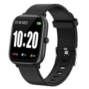PUBU Smart Watch for Android Phones Compatible iPhone iOS Phones, Fitness Tracker with Heart Rate Monitor for Men Women, GPS Run Step Counter Interchangeable Watch Band Personalized Watch Faces