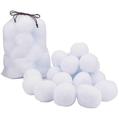 "HistenOne 40 Pack Snowballs 3"" in Diameter Each Ball"