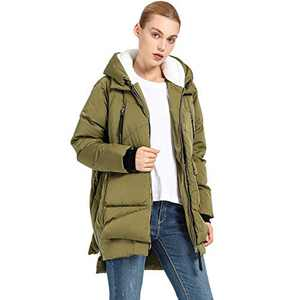 Women's Thickened Down Jacket(GREEN M)