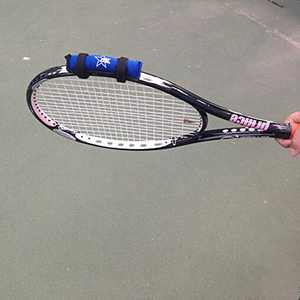 lianth Tennis Racket Weight Training Aid Racquet Weight-Adding Device Tenis Trainer