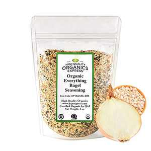 HQOExpress | Everything Bagel Seasoning | Certified USDA Organic | 4 oz. Bag