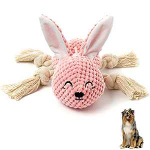 Toopveive Squeaky Chew Toys , Dog Plush Toys for Dogs, Cute Stuffed Elephant Dog Chew Toys for Small Medium Dog Pets