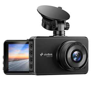 "ViviLink T20X 2.5K Dash Cam for Cars, Car Camera Car Driving Recorder, 3"" IPS Screen, WDR & F2.3 Aperture for Super Night Vision, 170° Wide Angle, Loop Recording, G-Sensor, Parking Monitor"