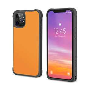 Design Skin Phoenix Pro Bumper Designed for iPhone 12 Case (2020) / Designed for iPhone 12 Pro Case (2020) Slim Fit Shock Absorbing Protective Compatible with iPhone 12/Pro Case (6.1 Inch) - Yellow