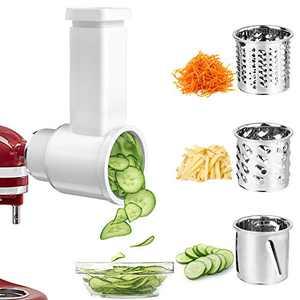 Cheese Shredder for KitchenAid Mixer Attachment, Slicer Shredder for Kitchen Aid Stand Mixer, Salad Shooter for KitchenAid Mixer Accessories by GEEKHOM