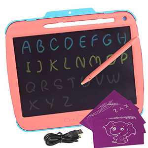 Binen Kids Drawing Pad Doodle Board, 9 inch Colorful Toddler Scribbler Board Erasable, LCD Writing Tablet Drawing Board Educational Drawing Tablet Learning Toys Gifts for 3 4 5 6 Year Old Girls Boys