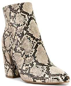 Sugar Women's Evvie Winter Ankle Bootie 6 Snake