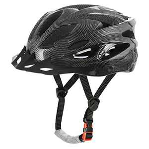 KAMUGO Adult Bike Bicycle Helmets for Women Men, Safety Breathable Lightweight Road Cycling Helmet with Detachable Visor for Multi-Sports