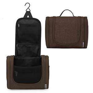 WindTook Toiletry Bag Hanging Travel Bag Waterproof Hygiene Bag Bathroom Shower Organizer kit with Mental Hook for Men & Women Portable Makeup Cosmetic Bagfor Toiletries Accessories