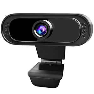 SONNLYH Webcam, 1080P USB Computer Camera with Microphone for Desktop, HD Streaming Webcam for PC Desktop & Laptop, Plug and Play Video Webcam for Zoom, Online Class, Meeting Skype Facetime Teams