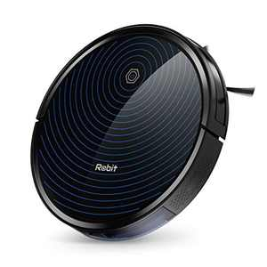 Robot Vacuum, 2500Pa Power Suction, 6.9cm Super-Thin, Ultra Quite, Self-Charge Robot Vacuum Cleaner for Pet Hairs, Hard Floor to Medium-Pile Carpets, Robit R3000