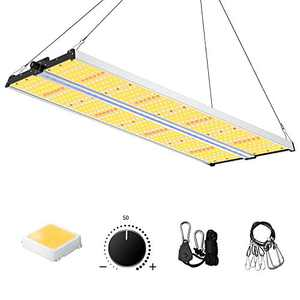 Led Grow Light with Supplement Bar, SAYHON 4x4ft Coverage Full Spectrum SH2000 Sunlight Dimmable Grow Lights,Indoor Plants Grow Lamp for Greenhouse Seeding Veg Flower Bloom