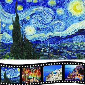 convolum Puzzles for Adults 1000 Piece, Starry Night Jigsaw Puzzles 1000 Pieces for Adults Kid Gift Toy Game (27.5 x 19.7 Inch)