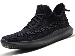 Running Shoes for Men Walking Workout Shoes Tennis Breathable Trail Running Gym Sneakers Athletic Shoes Summer Black Size 8.5 Exercise Cross Trainer Shoes treadmill Power Weight Llifting Work