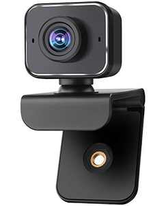 Webcam with Microphone, AIMASON USB PC Computer Webcams, Laptop Desktop 1080p Full HD Camera Video Webcam Widescreen, Pro Streaming Webcam for Recording, Calling, Zoom, Conferencing, Skype, Gaming