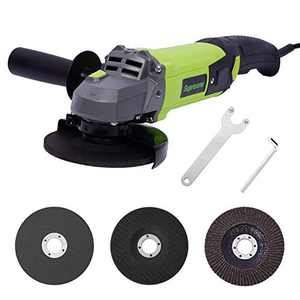 Angle Grinder Tool, Paddle Switch, 4-1/2-Inch, 9A, 12000RPM, Compact & Lightweight Grinders Power Tools Electric Cut Off Tool