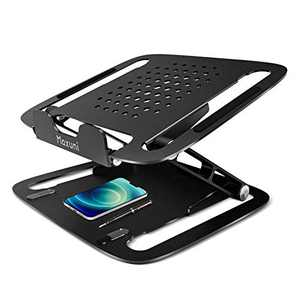 Maxuni Laptop Stand, Ergonomic Aluminum Adjustable Laptop Stand, Compatible with MacBook Air Pro, Dell XPS, Lenovo, Samsung, Up to 17 inch