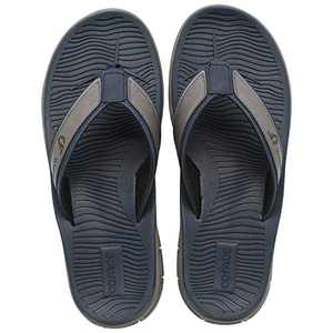 COFACE Men's-Sport-flip Flops-Casual-Comfort-Sandals-with Arch Support-Outdoor-Beach-Size 14 Blue