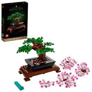 LEGO Bonsai Tree 10281 Building Kit, a Building Project to Focus The Mind with a Beautiful Display Piece to Enjoy, New 2021 (878 Pieces)