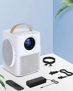 Bluetooth Handle Projector,HD WiFi Projector Mini Portable Projector ,Supported Video Projector with Synchronize Phone Screen,Compatible with TV Stick/HDMI/USB/TV Box/Xbox/PS4/PS5