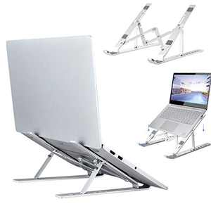 Laptop Stand Ergonomic Adjustable Laptop Holder Riser Computer Tablet Stand with 7 Levels Height Adjustment