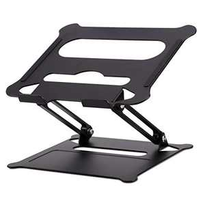 """Phomemo Laptop Stand for Desk , Adjustable Height Laptop Stand Holder Portable Notebook Riser, Holder Computer Stand Compatible with MacBook Air Pro Dell, HP, Lenovo and All Laptops up to 10""""-15.6"""""""
