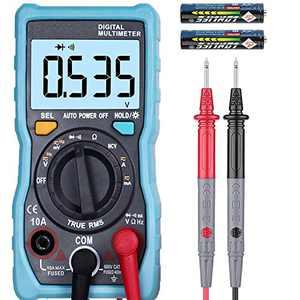 ZOYI 4000 Counts TRMS Digital Multimeter, Auto-ranging Voltmeter, Super Fast Accurately Measure Voltage, Current, Resistance, Back LED light, NCV