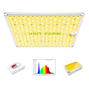 UNIT FARM Full Spectrum LED Grow Lights for Plant Indoor, UF2000 LED Grow Lamp with 384 OSRAM Diodes, Hydroponics Grow Light for 3x3FT Vegetable Houseplant, 2x2FT Seedling Veg Flowering (Out-put 100W)
