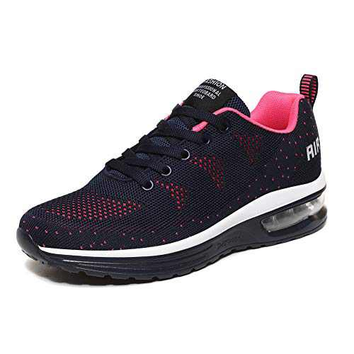 LUOBANIU Women Casual Shoes Ultra Lightweight Sneakers Fashion Walking Athletic Non Slip Breathable Running Shoes 5068Blue 8 US