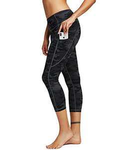 AOR High Waist Yoga Pants Women Workout Leggings Naked Feeling Tummy Control Non-See Through Compression Pants