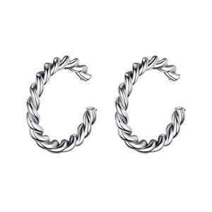 925 Sterling Silver Earrings for Women, Sterling Silver Ear Cuff Earrings for Women Non Pierced Ears Fake Earrings, Ear Cuffs Hypoallergenic Earrings for Women Sensitive Ears