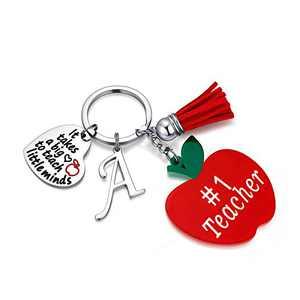 Teacher Gifts for Women, Thank You Teacher Gifts A Teacher Keychain