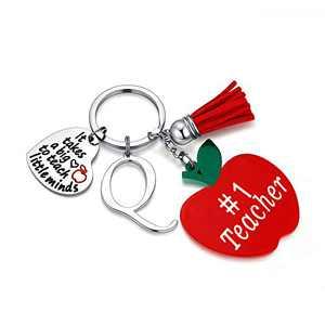 Teacher Appreciation Gifts for Women, Teacher Gifts Q Teacher Keychain