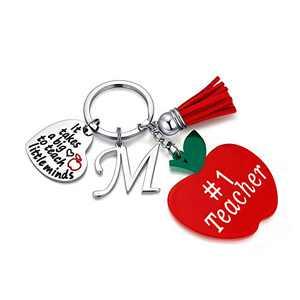 Teacher Gifts for Women, Best Teacher Gifts M Teacher Keychain