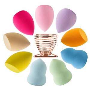 Beauty Blender Makeup Sponges 10pack Blending Set Beauty Sponges Latex-free Blender Powder Puff for Foundation Blending Concealer Flawless for Liquid Cream 9 Colorful Beauty Blender+1 Beauty Blender Holder