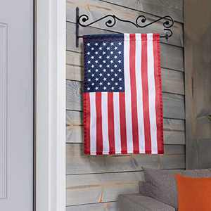 NQ Garden Flag Wall Hanger, Premium Flag Pole Holder Metal Powder-Coated Weather-Proof Paint,Easy Hanging 13.5 Inch Flag. (1-Pack) …