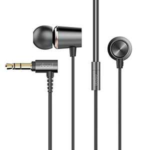 Doosl Wired Earbuds,HiFi Ergonomic in-Ear Headphones with Dynamic Crystal Clear Sound, Earphones with Standard 3.5mm Jack, S/M/L Eartips Compatible with Phones, Mp3 Players, laptops,Radios and More
