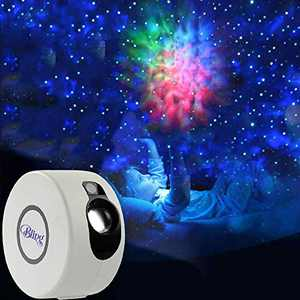 Bling Star Light Galaxy Projector LED Nebula Cloud,Starry Sky Night Light with Remote Control for Bedroom-Home Decorations and Birthday Parties- 8 Night Time Projection Modes for Babies/Adult/Kids